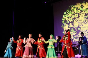 Concert of the Cossack ensemble & quot; Russian Volya""