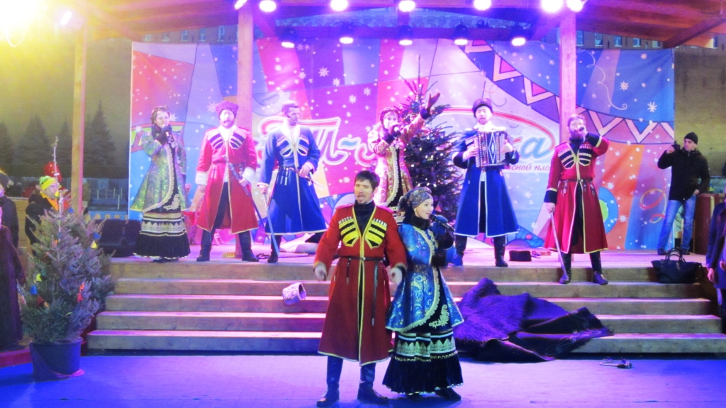 the Cossack ensemble the Russian Will since February 23