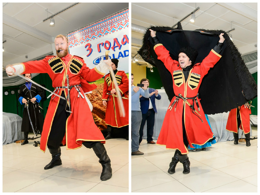 Cossack ensemble, folklore ensemble